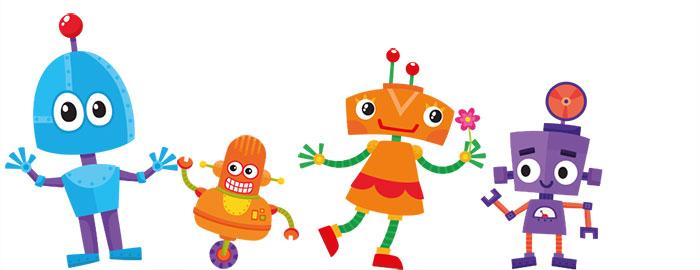 Kiddypix Robozz Robots